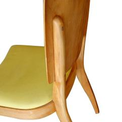 Heywood Wakefield Dogbone Chairs Walking Cane Chair Seats Closed Quotdogbone Quot Dining Side Set