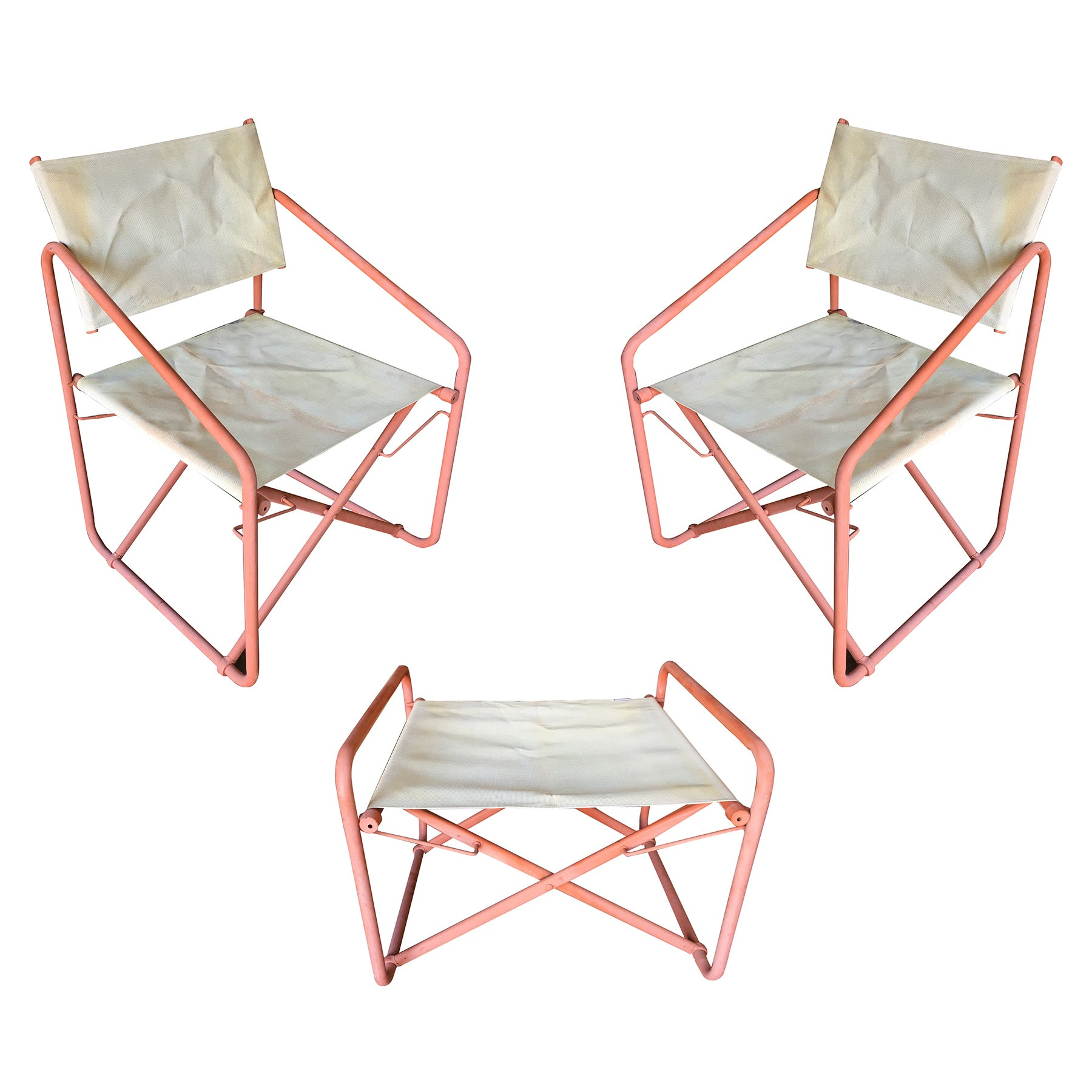 Patio Folding Chairs Brown Jordan