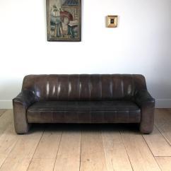 De Sede Sofa Vintage Extra Tall Tables At 1stdibs