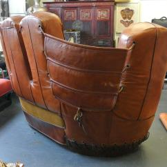 Baseball Leather Sofa Marshmallow 2 In 1 Flip Open Disney Mickey Mouse Stiles Brothers Glove At 1stdibs
