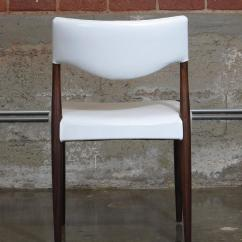 White Leather Chairs For Sale Kelsyus Beach Canopy Chair Danish Rosewood Dining In At