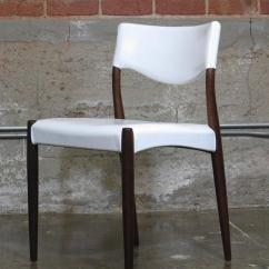 White Leather Chairs For Sale Outdoor Chair With Umbrella Danish Rosewood Dining In At