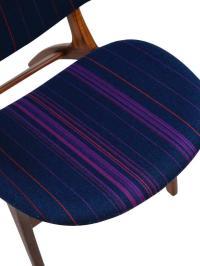 Mid century Danish High Back Lounge Chair at 1stdibs