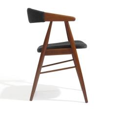 Teak Dining Room Chairs For Sale Purple Side Chair Danish Arm At 1stdibs