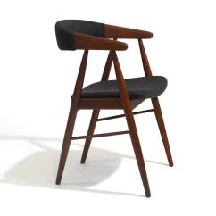 Teak Dining Room Chairs For Sale Old High Chair With Wheels Danish Arm At 1stdibs