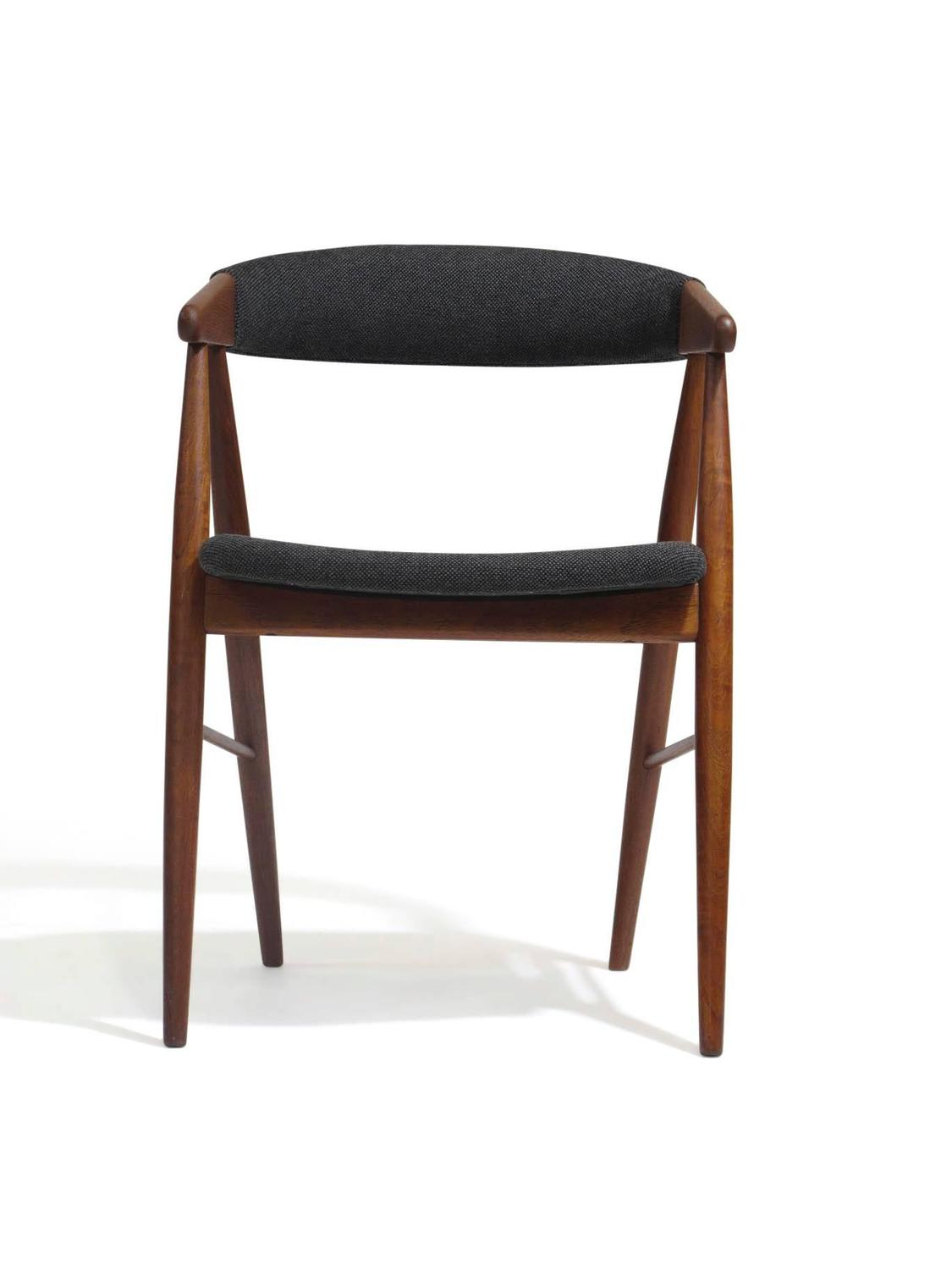 teak dining room chairs for sale hanging jute chair danish arm at 1stdibs