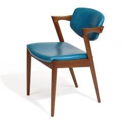 Turquoise Chairs Leather Western Rocking Chair Six Kai Kristiansen Teak Danish Dining In