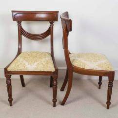 Dining Chair Styles Antique Pottery Barn Kids My First Set Of 16 Vintage Regency Style Chairs Swag Back