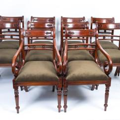 Tulip Dining Room Chairs Chair Times Vitra Design Museum Grand Set Of Ten Regency Style Back
