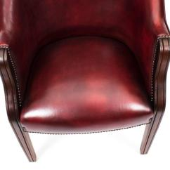 Unique Leather Office Chairs Outdoor Glider Chair Canada Pair Of English Handmade Desk Ox Blood For