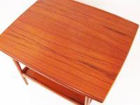 Mid-Century Danish Modern Teak Side Table for Moreddi For ...