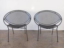 Pair Of Salterini Patio Chairs 1stdibs