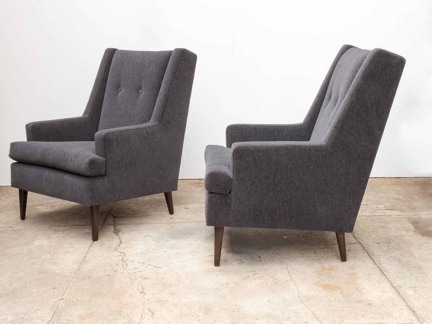 Chairs For Tall Man Pair Of Edward Wormley Quottall Man Quot Chairs For Dunbar For
