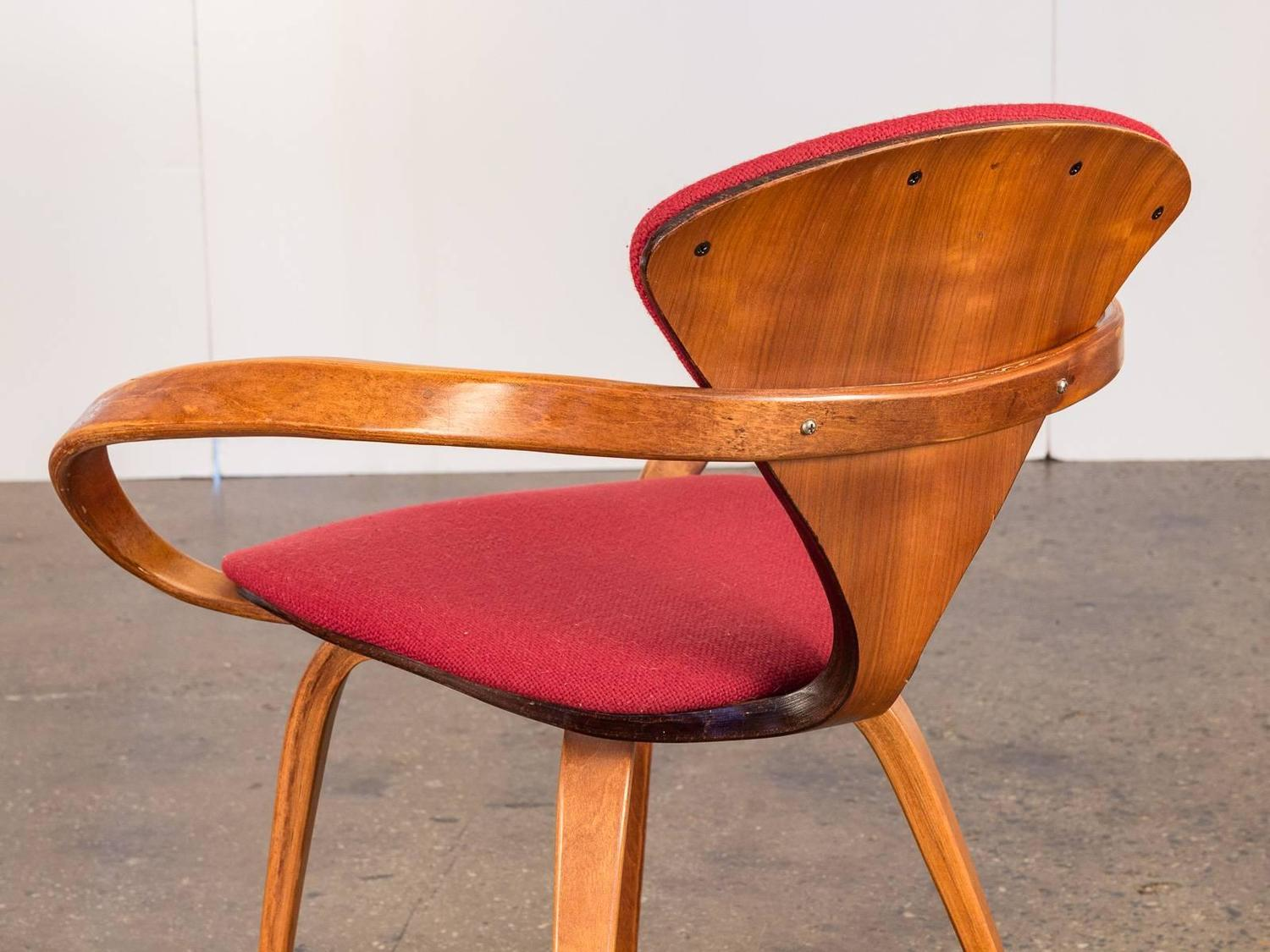 Pretzel Chair Plycraft Norman Cherner Pretzel Chair At 1stdibs