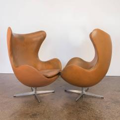 Egg Chairs For Sale High End Pedicure Vintage Leather By Arne Jacobsen At