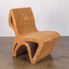 Frank Gehry Cardboard Chair Seat Cushions For Dining Room Chairs Vintage Corrugated Sale At 1stdibs