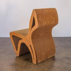 Frank Gehry Cardboard Chair Diy Office Vintage Corrugated For Sale At 1stdibs