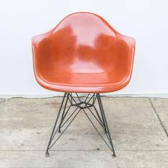 Eames Arm Chair Oak Antique Chairs Molded Fiberglass Armchair In Terracotta At 1stdibs For Sale Price Is Per Unit Sold Individually We Have Three Charles And Ray