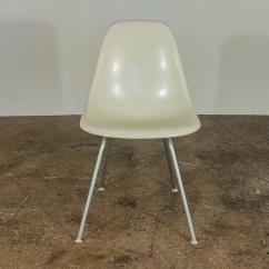 White Shell Chair Desk Charles And Ray Eames For Herman Miller Chairs