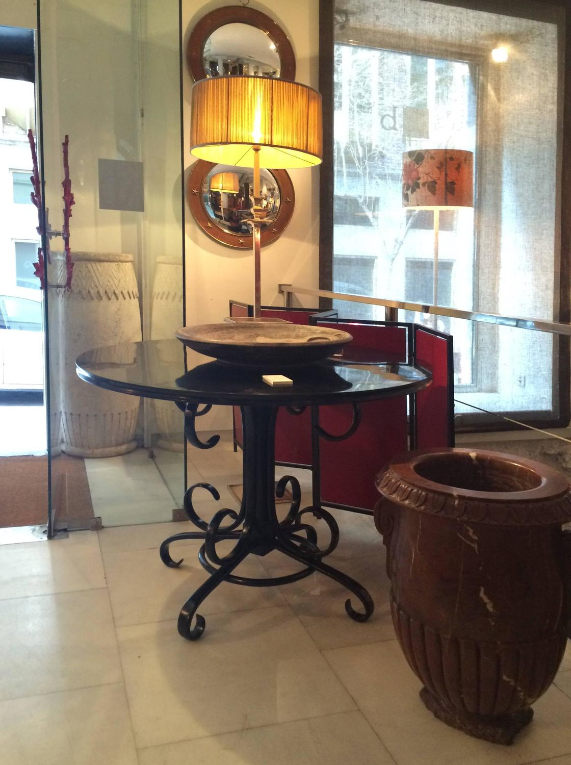 Ebonized Gueridon By Thonet For Sale At 1stdibs