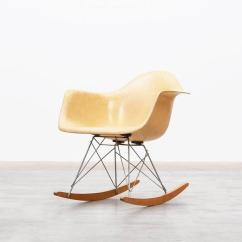 Metal Rocking Chair Runners Best Baby Eating Charles And Ray Eames Rar For Sale At 1stdibs