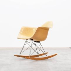 Metal Rocking Chair Runners Ergonomic Thesis Charles And Ray Eames Rar For Sale At 1stdibs