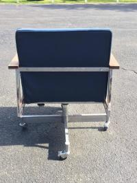 Mid-Century Office Swivel Chair on Casters at 1stdibs
