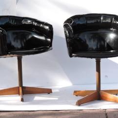 Swivel Pod Chair Sofa Covers Australia Sleek Chairs At 1stdibs