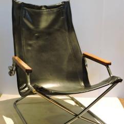 Folding Japanese Chair Pico Australia Modernist Sling By Uchida At 1stdibs