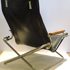 Folding Japanese Chair Commercial Baby High Chairs Modernist Sling By Uchida At 1stdibs