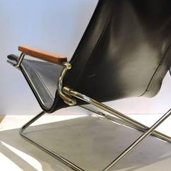 Folding Japanese Chair Racing Computer Modernist Sling By Uchida At 1stdibs