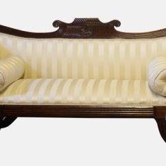 Victorian Scroll Arm Sofa Secional Sofas Regency Mahogany End At 1stdibs