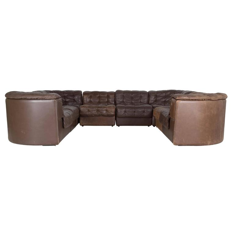 de sede sleeper sofa best most comfortable sofas 1980s leather for sale at 1stdibs