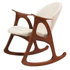 Danish Modern Rocking Chair Massage Pads For By Erhardsen And Andersen Sale At