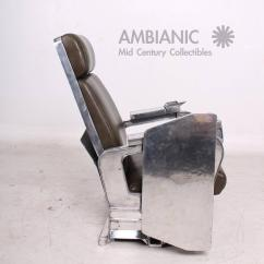 Modern Aluminum Chair Shaker Rocking Kit Mid Century Airplane For Sale At 1stdibs