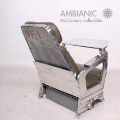 Modern Aluminum Chair Do Massage Chairs Work Mid Century Airplane For Sale At 1stdibs