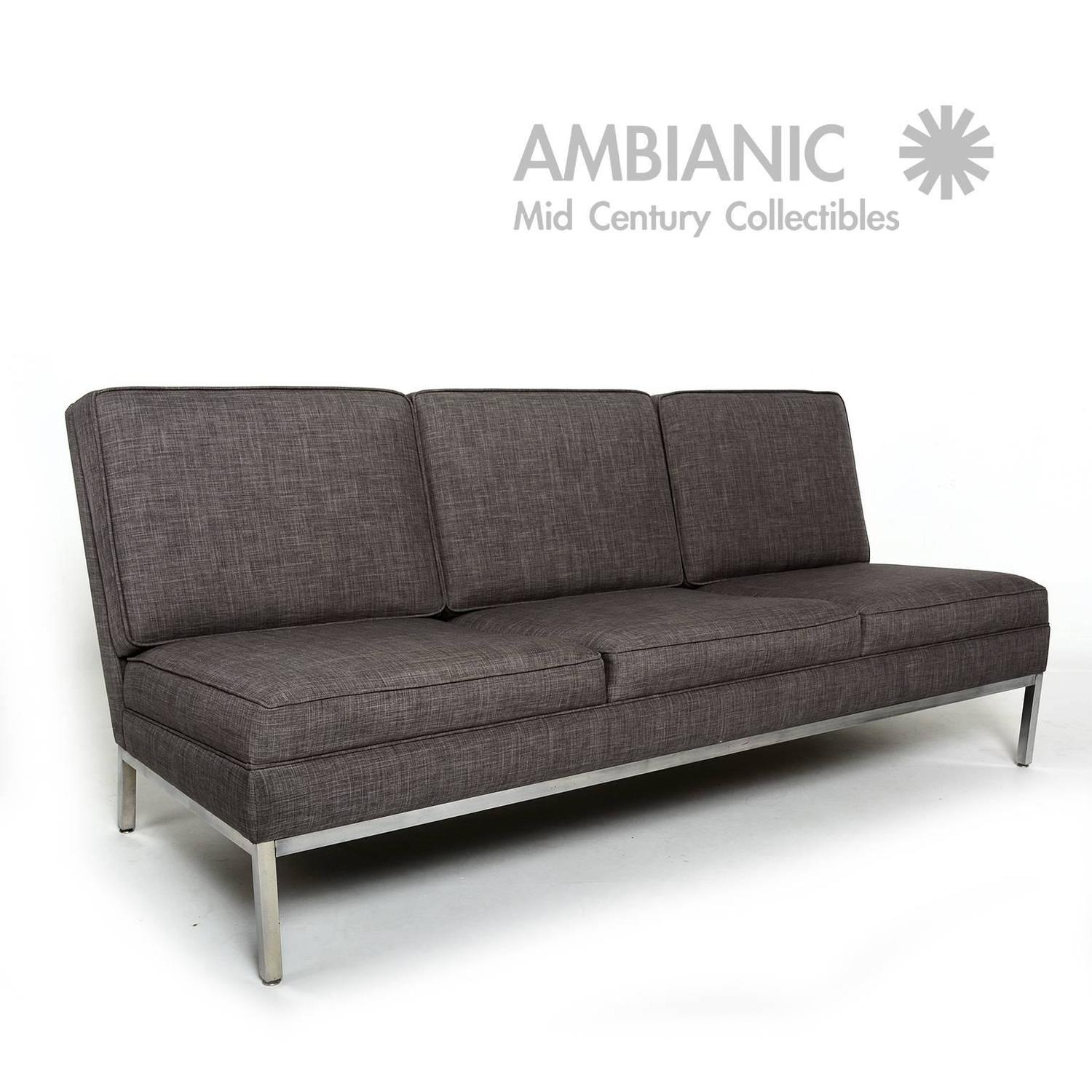 steelcase sofa platner leather set for living room media scape lounge seating office