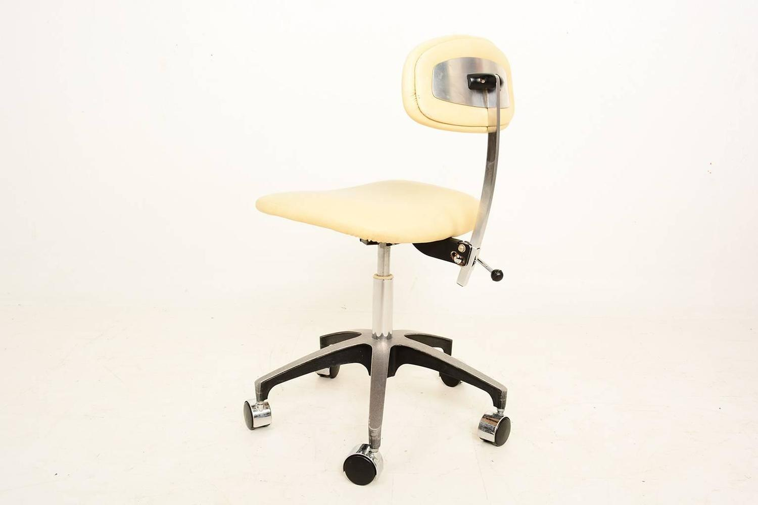 Industrial Office Chair Mid Century Modern Industrial Office Desk Chair For Sale