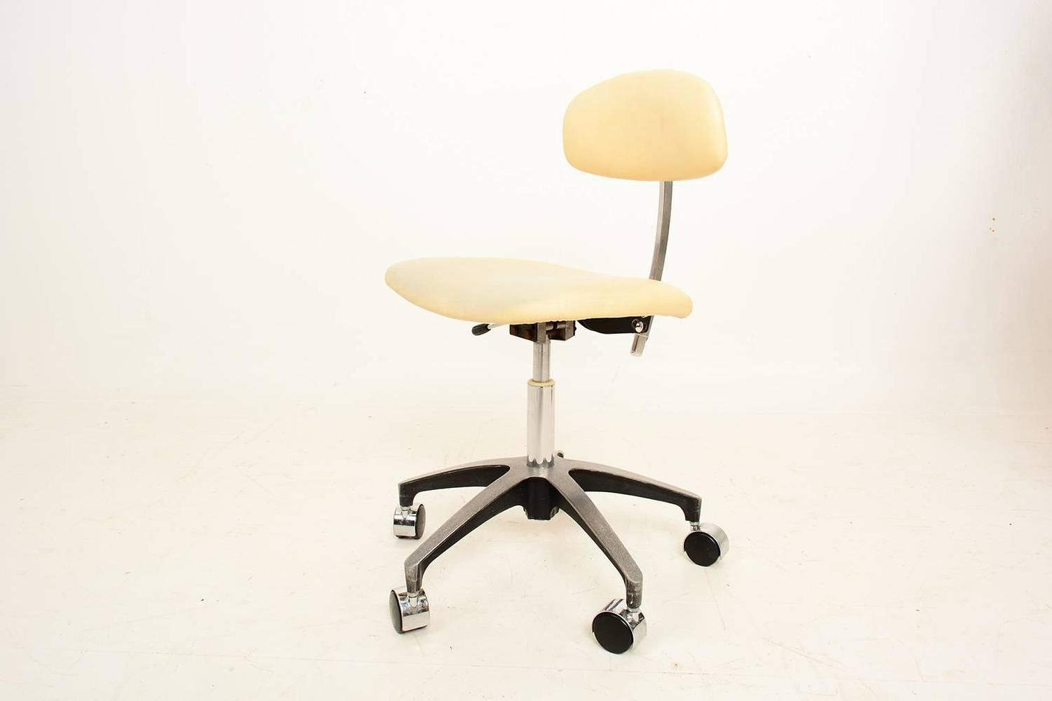 Mid Century Modern Office Chair Mid Century Modern Industrial Office Desk Chair For Sale