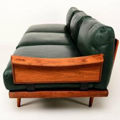 Swedish Leather Recliner Chairs Office Chair Legs Scandinavian Sofa Set In Rosewood And For Sale At