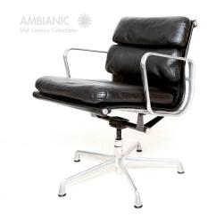 Herman Miller Chairs Vintage Chair Stool Difference Eames Soft Pad Aluminum Group