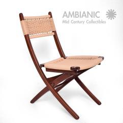 Yugoslavian Folding Chair Cover Rental Saskatoon Mid Century Danish Modern Rope Chairs Wegner Style