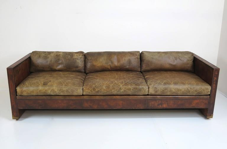 down wrapped cushion sofas buy sofa cushions online india distressed and patinated leather smoking room at 1stdibs