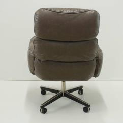 Grey Leather Desk Chair Covers Target Australia Otto Zapf For Knoll International Executive