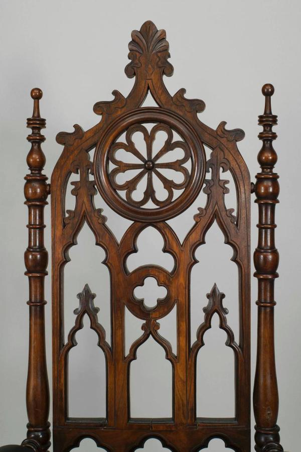 Gothic Revival Furniture Characteristics
