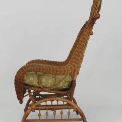 Rocking Horse Chair Desk Hanging Flipkart Ornate Wicker Platform For Sale At 1stdibs