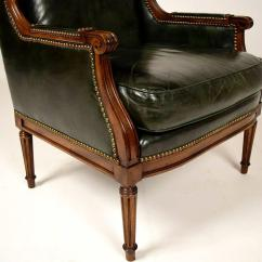 Leather Wingback Chairs Cool For Room Vintage Hickory Chair Sale At 1stdibs