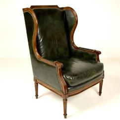 Hickory Chairs For Sale Shaker Rocking Chair Vintage Leather Wingback At 1stdibs