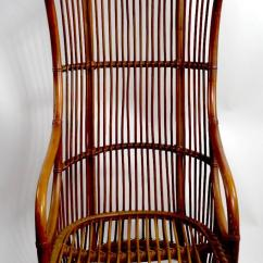 Heywood Wakefield Wicker Chairs Safavieh Dining Target Dramatic Bamboo Hood Chair For Sale At 1stdibs