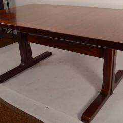 Skovby Rosewood Dining Chairs Low Profile Camping Danish Table By At 1stdibs